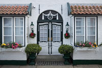 House in the street Wasserzeile, in which Theodor Storm also lived, Husum, Germany, Europe