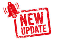 Red stamp with bell - New update