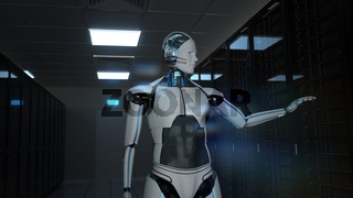 Humanoid Robot Data Center