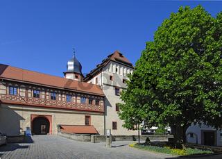 Kaiserpfalz in Forchheim, fürstbischöfliches Schlo