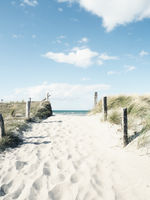 Pathway to the beach, Baltic Sea