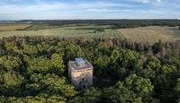 Ballenstedt Harz Luftbilder Bismarckturm Opperode