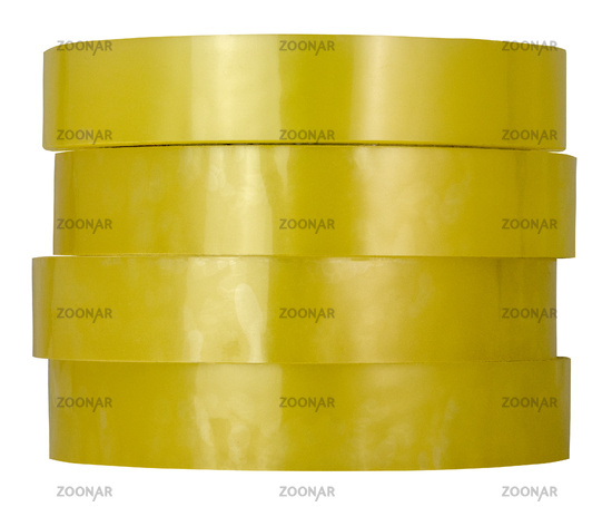 Isolated Rolls Of Adhesive Tape