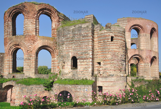 Imperial Bath of Trier,Germany