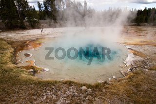 Hot pool in Yellowstone