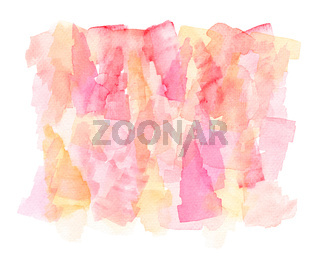 Watercolor Abstract Hand Painted Illustration