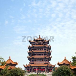 Yellow Crane Tower Wuhan China