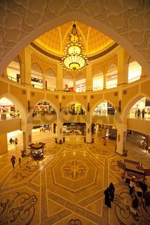 Arabischer Stil im im Einkaufszentrum Dubai Mall von Dubai