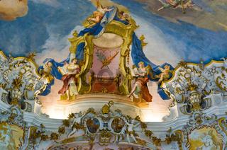 Weltkulturerbe Wand-und Deckenfresken der Wieskirche