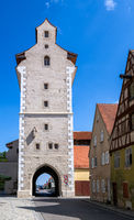 Historic city gate of Noerdlingen