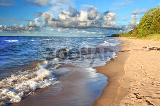 Michigan Lake Superior Beach