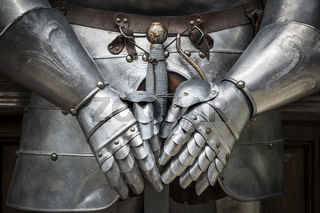 Detail knight armor