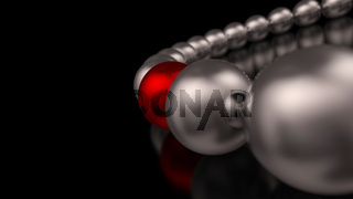 Chrome Red Ball Focus 1