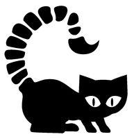 Scorpion Cat Silhouette