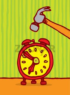 Killing time / Alarm snooze