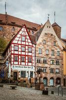 Old houses in Nuremberg