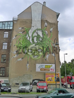 city leaks festival cologne köln painting street art graffity