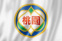 Taoyuan city flag, China