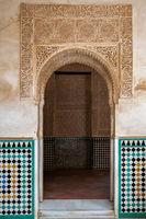 Doorway in the Alhambra