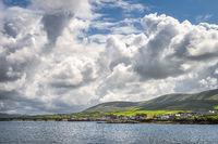 Beautiful Portmagee village Ring of Kerry, Ireland