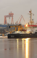 harbor view, Emden, Germany