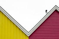House facades 002. Eckernfoerde. Germany