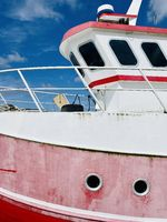 Detail of Danish fishing boat