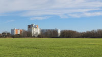 Garbsen - Apartment blocks on the outskirts, Germany