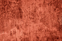 red painted concrete wall, vintage texture -