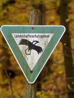 Schild Landschaftsschutzgebiet