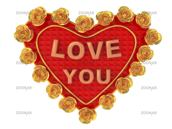 Gift at date of sacred Valentine