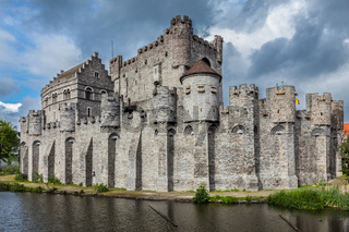 Gravensteen Castle in Ghent