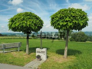 Friedensappell an Aussichtspunkt im Lkr. Ravensburg