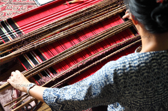 traditional malaysian loom