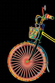 Stylish bicycle