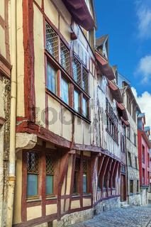 Street in Rouen, France