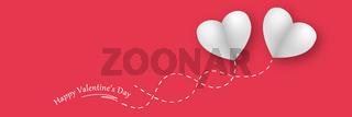 Happy Valentine's Day background. Love concept. 3d illustration