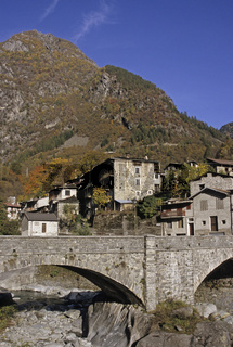 village in Val Masino