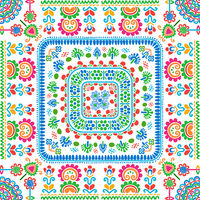 Hungarian embroidery pattern 122