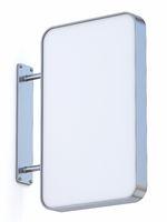 Vertical rectangular sign board 3D