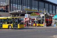 Berlin Zoo Station Scene