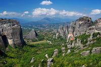 Meteora rocks and monasteries, Greece