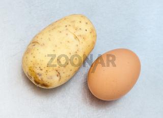 Kartoffel und Ei