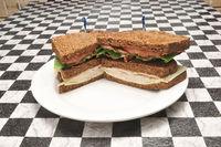 Turkey Bacon Club Sandwich