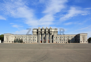 Town landscape of opera and ballet theater