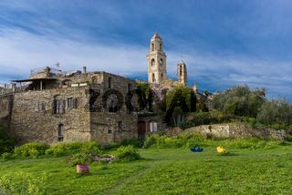 Ancient village of Bussana Vecchia