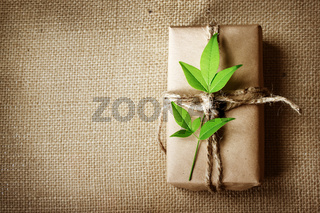 Present box rustic style