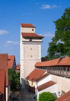Historic city wall of Noerdlingen