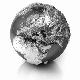 Silver Globe - Europe