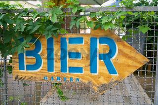 Biergarten in Berlin